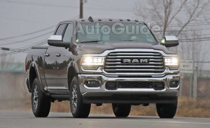 79 A 2020 Ram 3500 Spy Shoot