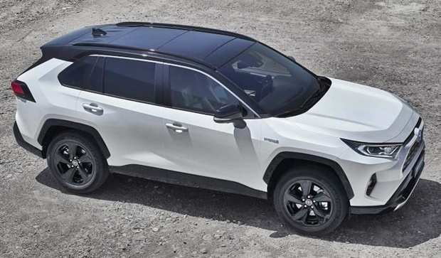 79 A 2020 Toyota Rav4 Hybrid Exterior And Interior