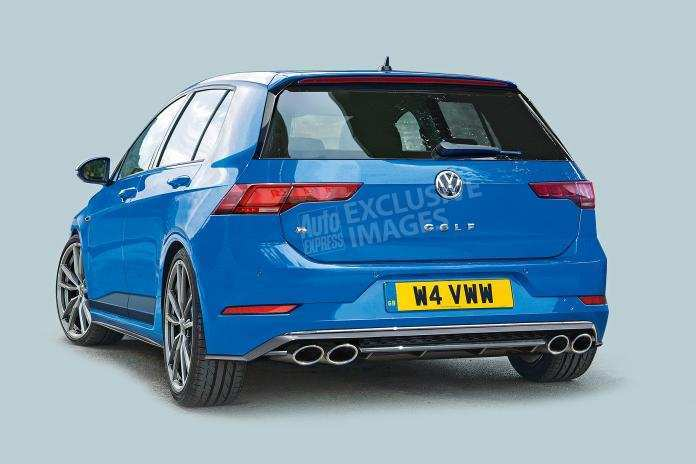 79 A 2020 Volkswagen Golf R Overview