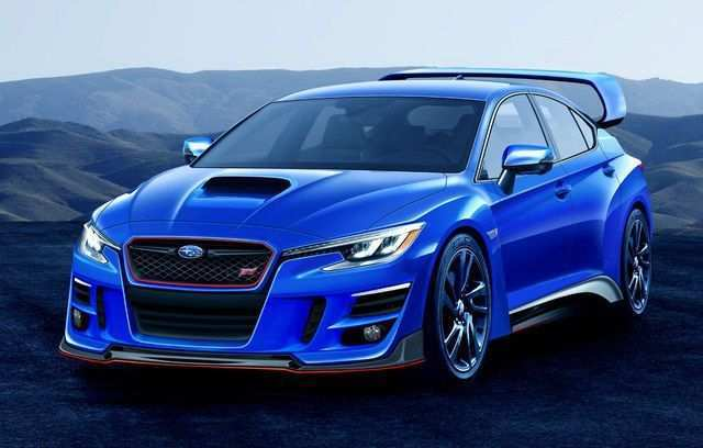 79 A Subaru Hatchback Sti 2020 Wallpaper