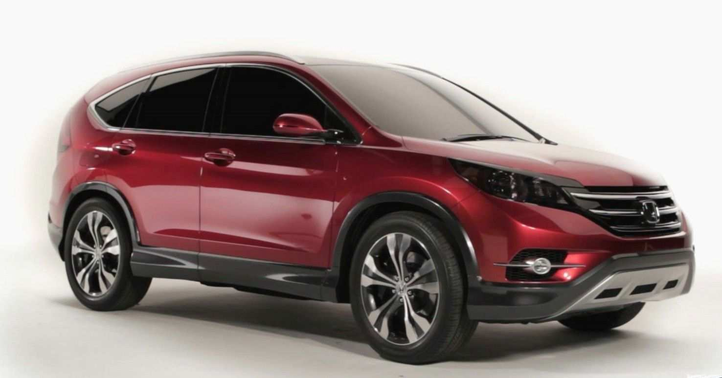 79 All New 2020 Honda CRV Redesign And Review