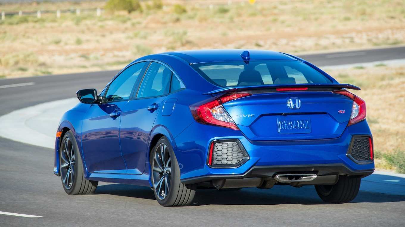 79 New 2019 Honda Civic Si Sedan New Concept