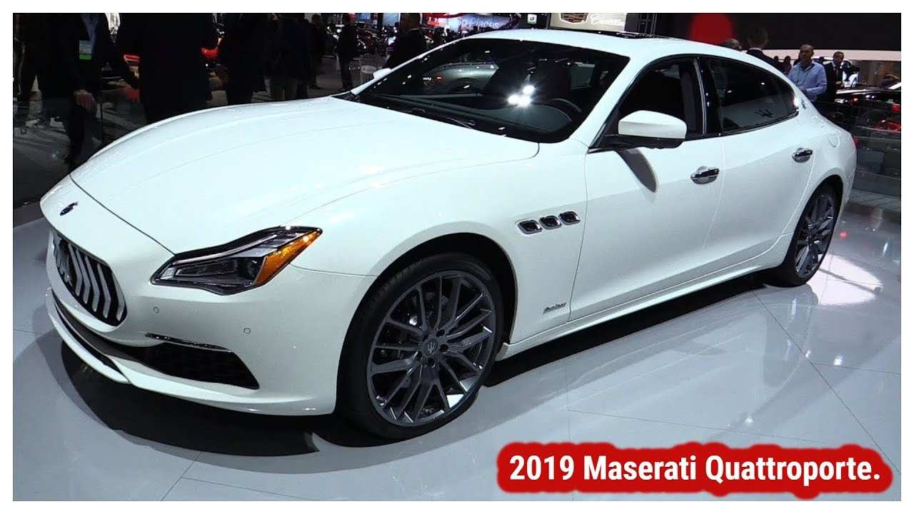 79 New 2019 Maserati Quattroportes New Review