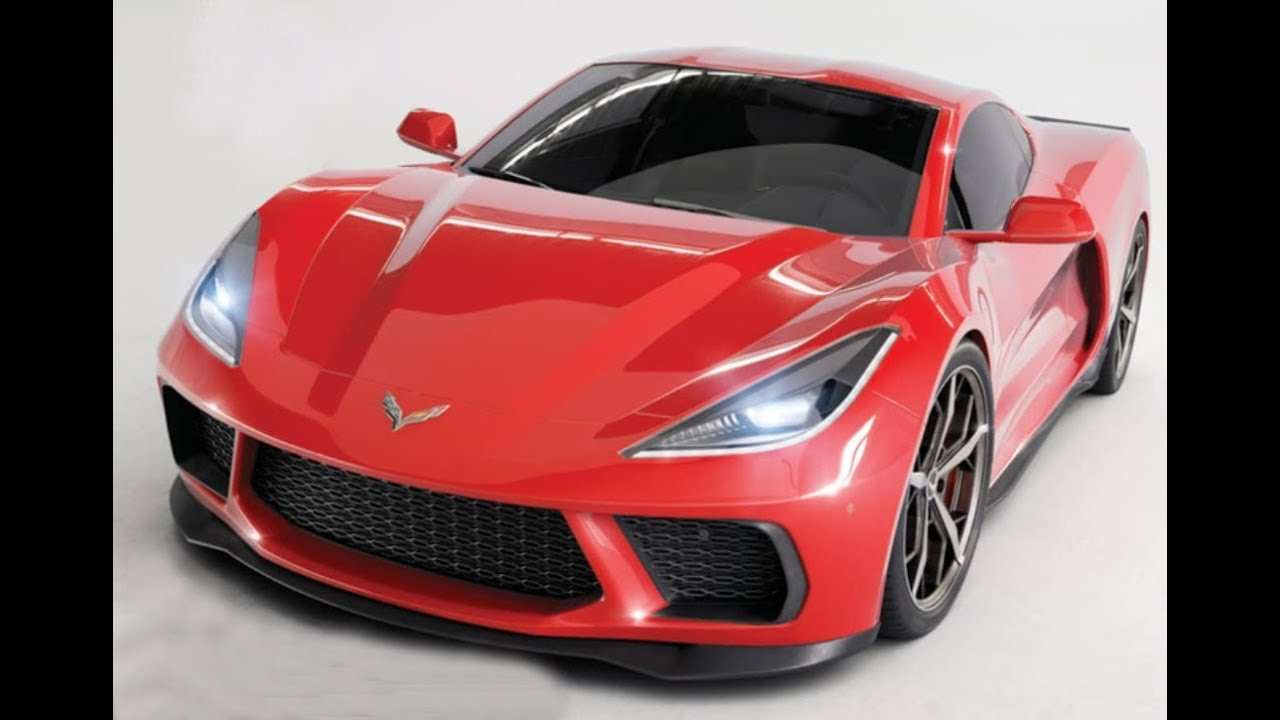 79 New Chevrolet Corvette C8 2020 Concept