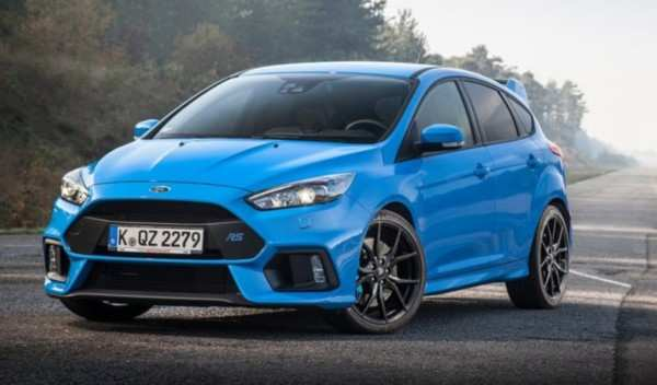79 The 2020 Ford Focus RS Interior