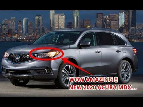 79 The Acura Mdx 2020 Changes Exterior