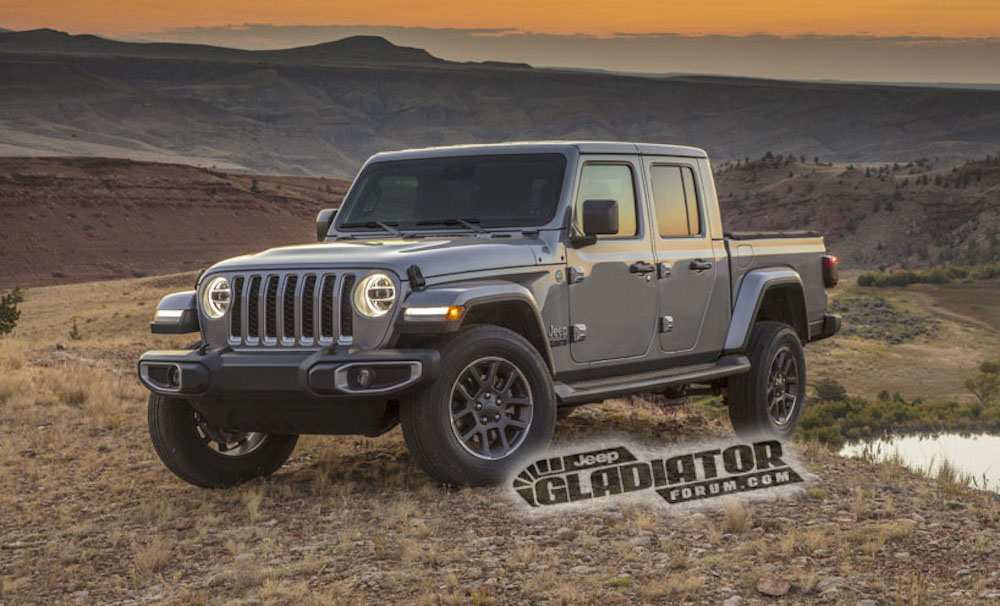 79 The Best 2020 Jeep Gladiator Engine Options Model