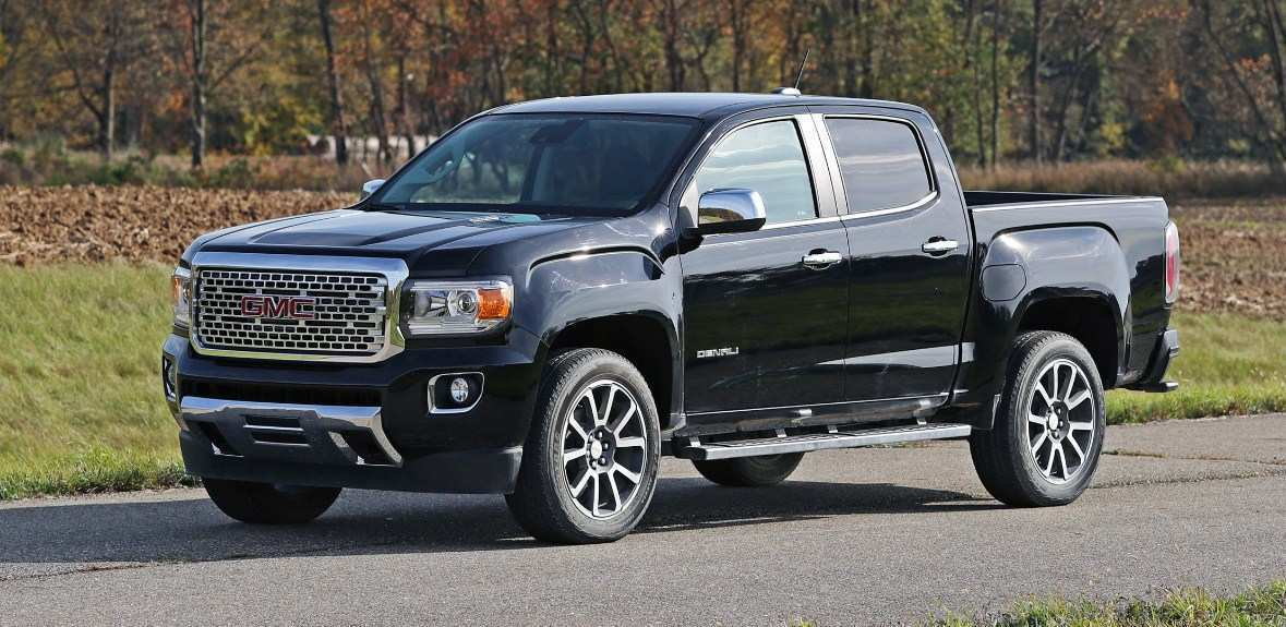 79 The Best GMC Canyon Denali 2020 Images