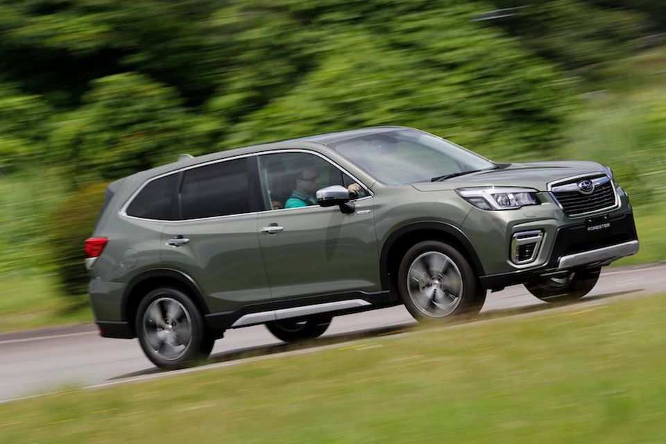 79 The Best Subaru Forester 2019 Gas Mileage Spy Shoot