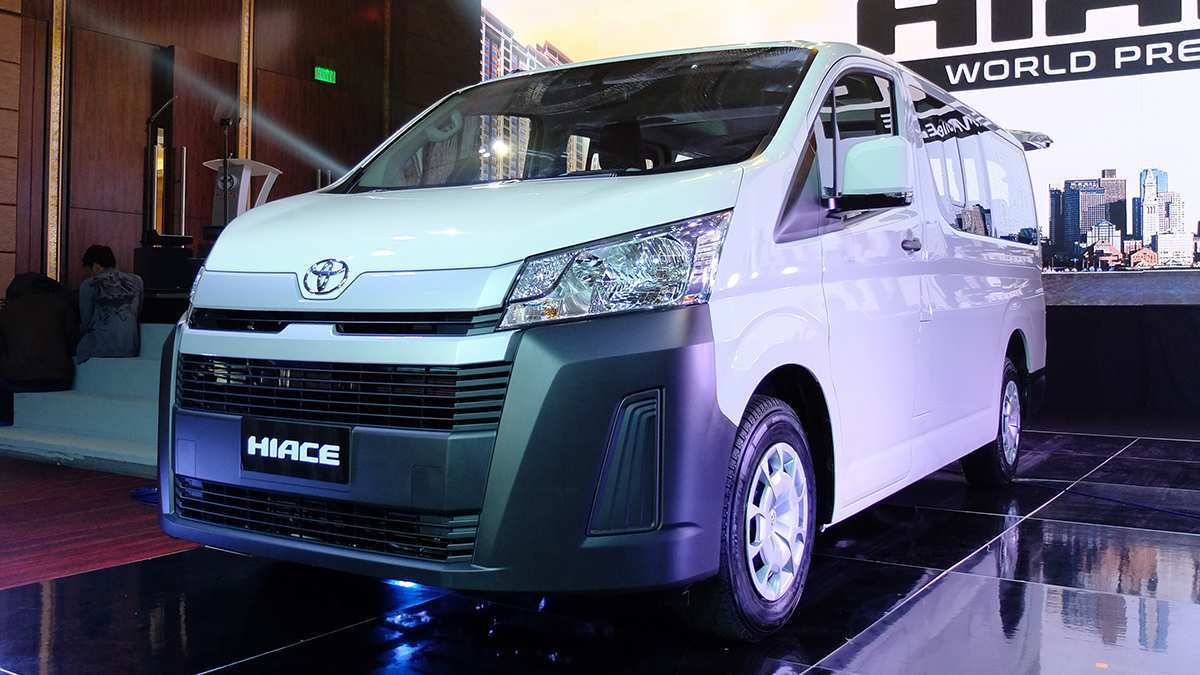 79 The Best Toyota Hiace 2019 Spy Shoot