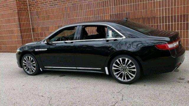 80 A 2019 Lincoln Continental Spy Shoot