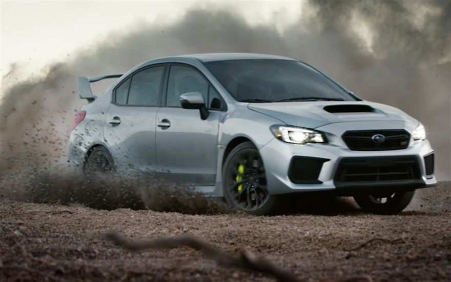 80 A 2019 Subaru Hatchback Sti Model