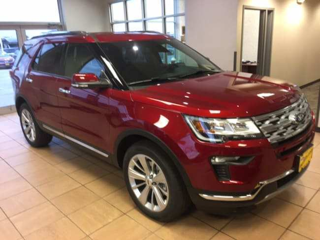 80 A 2019 The Ford Explorer Model