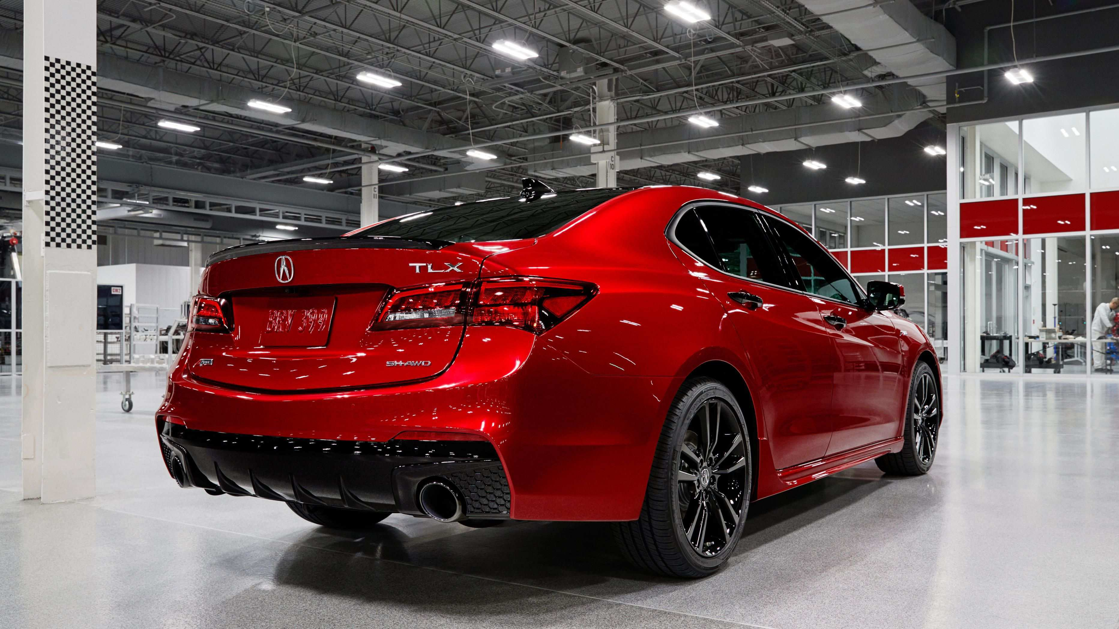 80 A 2020 Acura TLX Exterior And Interior