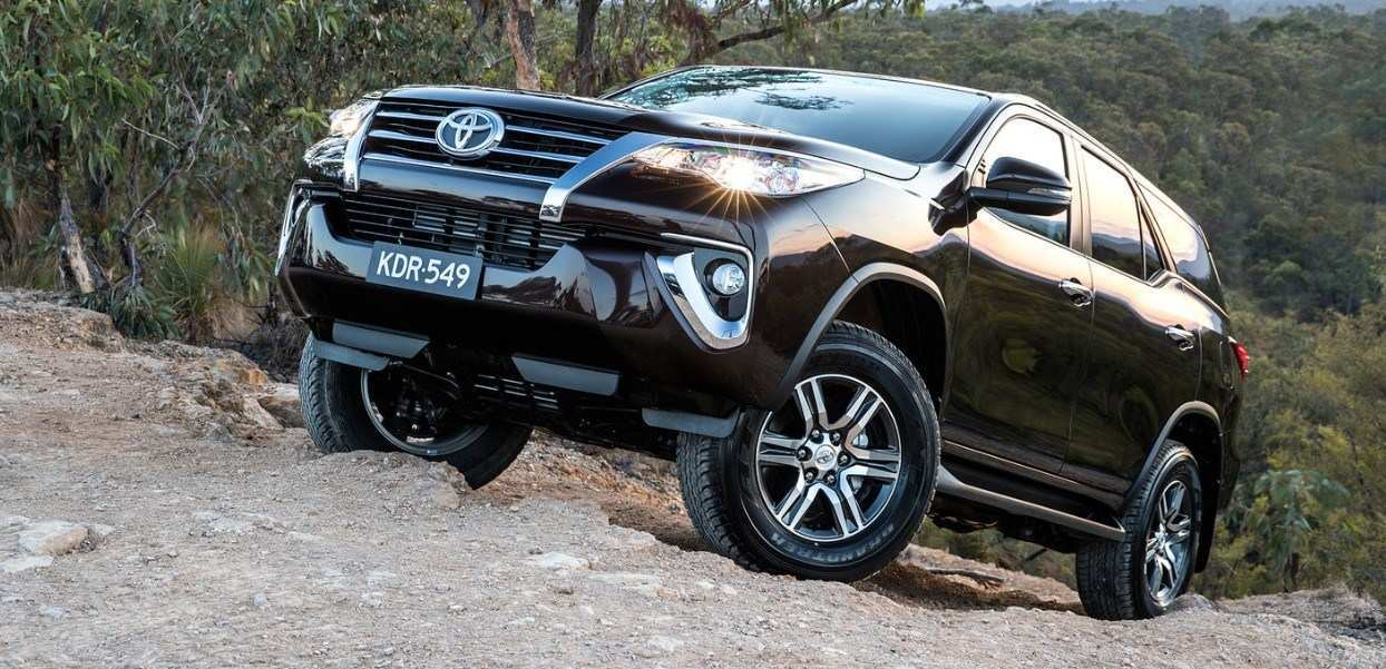 80 A 2020 Toyota Fortuner Style