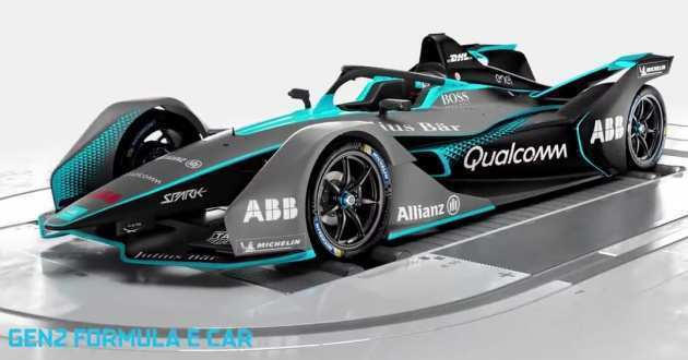 80 A Mercedes Formula E 2019 Spesification