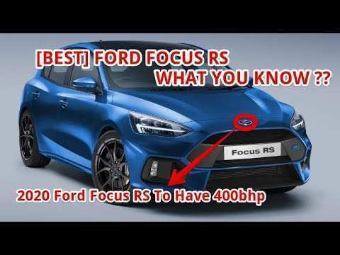 80 All New 2020 Ford Focus RS Prices