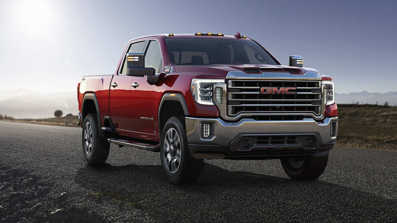 80 All New 2020 GMC Sierra 2500Hd Gas Engine Model