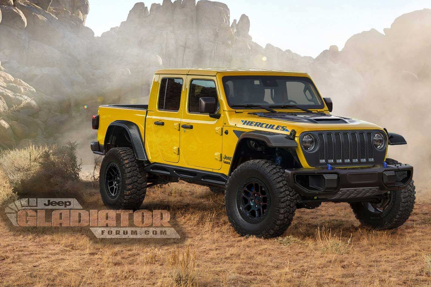 80 Best 2020 Jeep Gladiator Hercules Overview