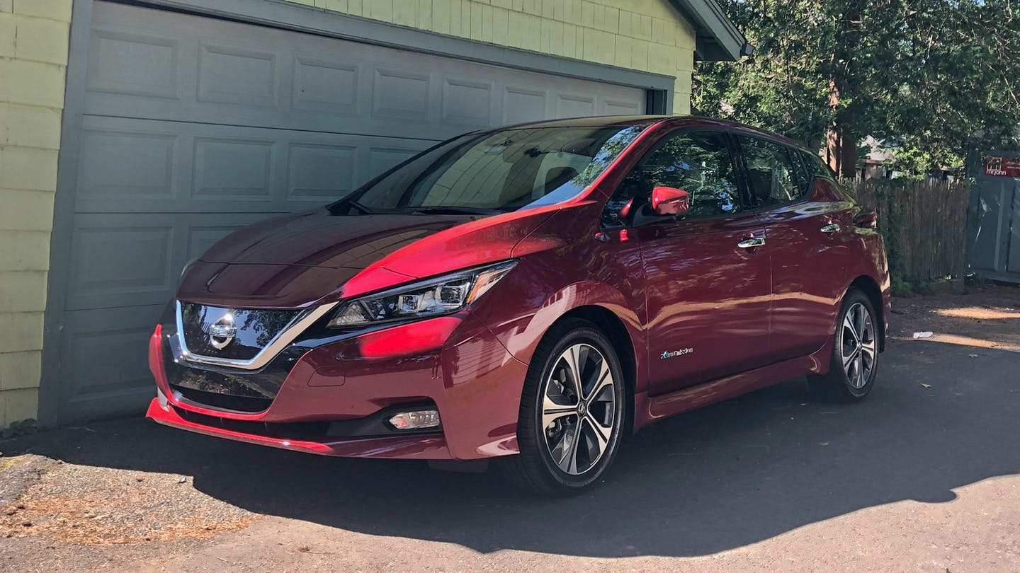 80 New 2019 Nissan Leaf Range Reviews