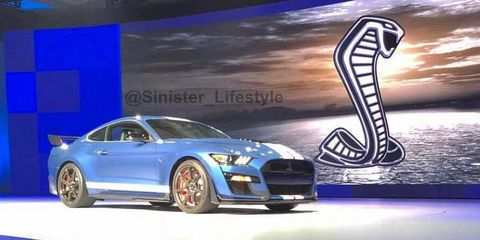 80 New 2019 The Spy Shots Ford Mustang Svt Gt 500 Exterior And Interior