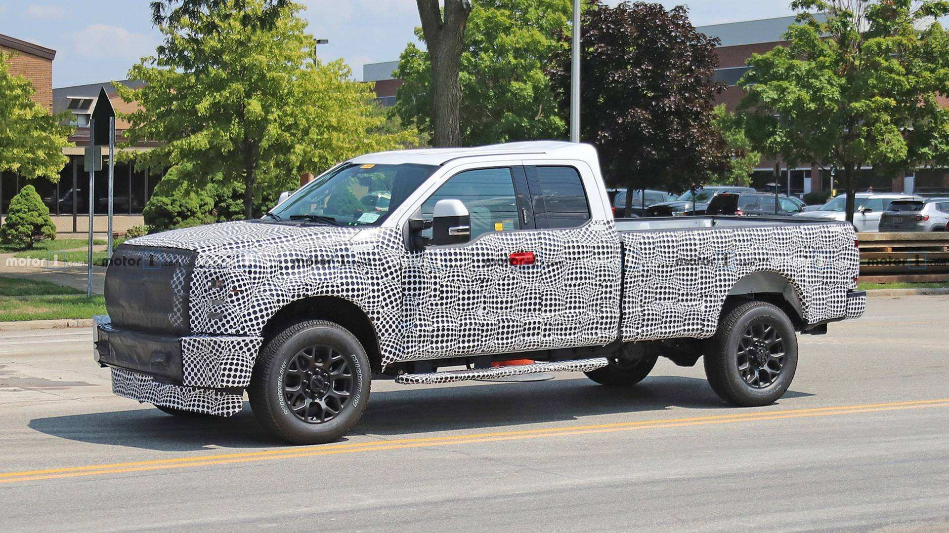 80 New 2020 Spy Shots Ford F350 Diesel Performance And New Engine