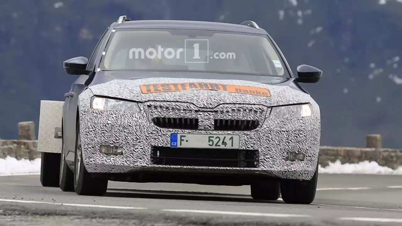80 New 2020 The Spy Shots Skoda Superb New Model And Performance