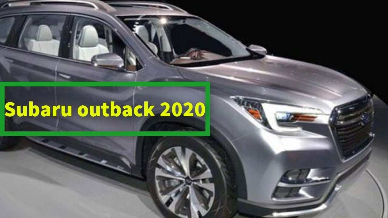 80 New Subaru Outback 2020 Spy Photos