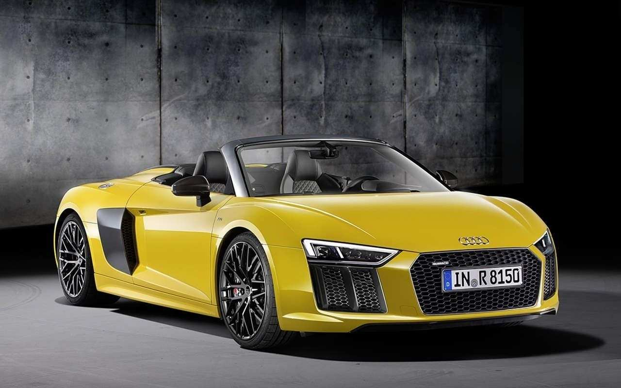 80 The 2019 Audi R8 V10 Spyder Concept And Review