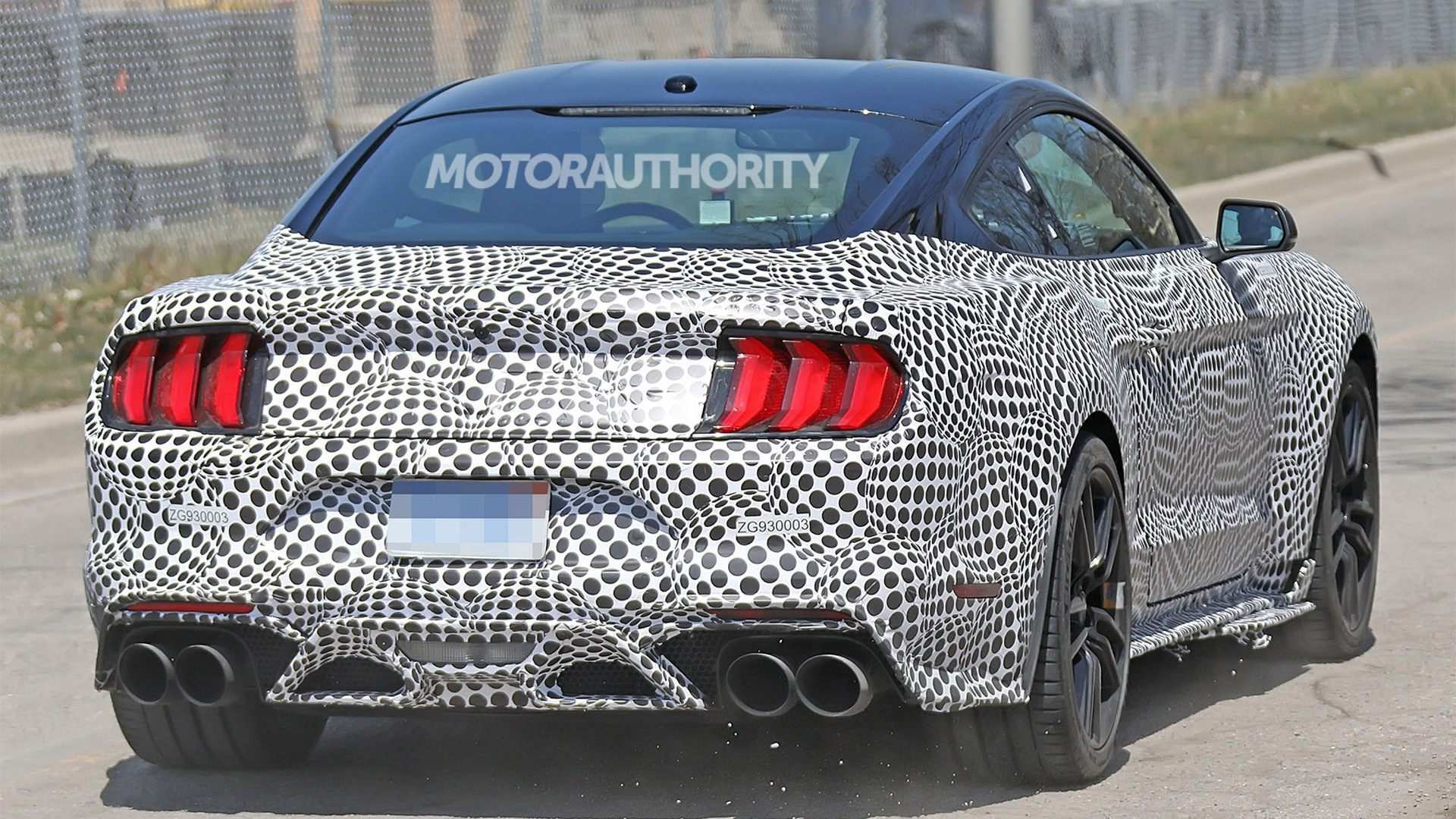 80 The 2019 The Spy Shots Ford Mustang Svt Gt 500 New Review