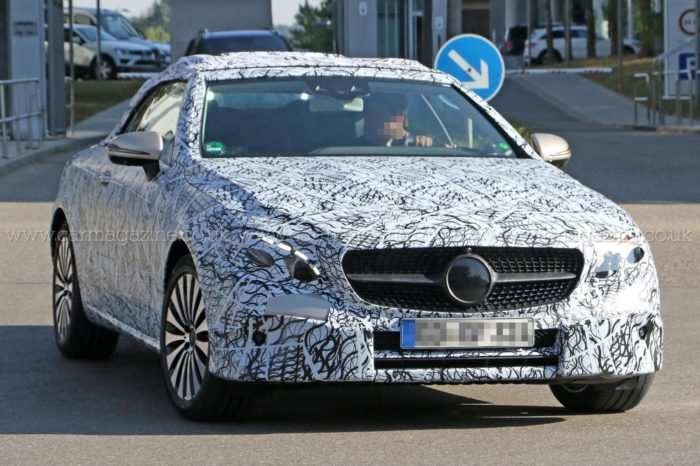 80 The 2019 The Spy Shots Mercedes E Class Concept