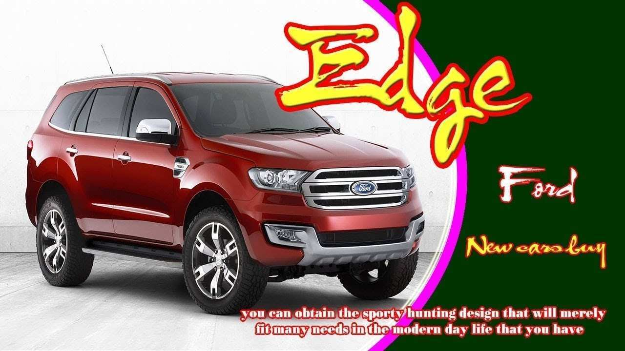 80 The 2020 Ford Edge New Design Picture