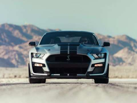 80 The 2020 The Spy Shots Ford Mustang Svt Gt 500 New Review