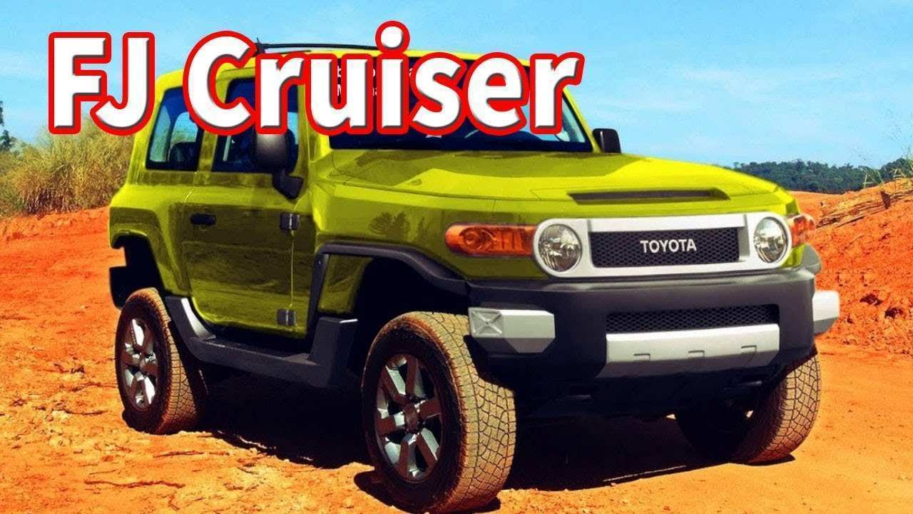 80 The 2020 Toyota FJ Cruiser Pricing