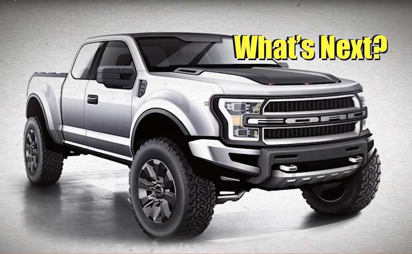 80 The Best 2019 Ford F150 Svt Raptor Redesign And Concept
