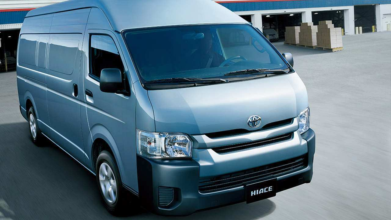 80 The Toyota Hiace 2019 New Review