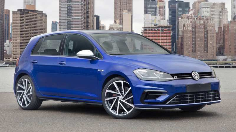 80 The Volkswagen Golf R 2020 Concept
