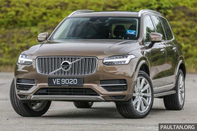 80 The Volvo Xc90 Facelift 2019 Exterior And Interior