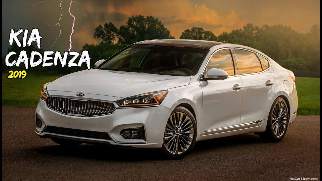 81 A 2019 All Kia Cadenza Spy Shoot