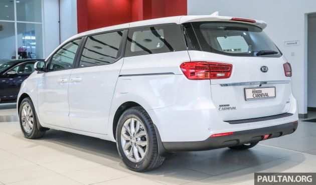 81 A 2019 Kia Carnival Exterior And Interior