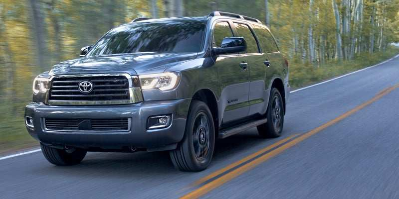 81 A 2019 Toyota Sequoia Configurations