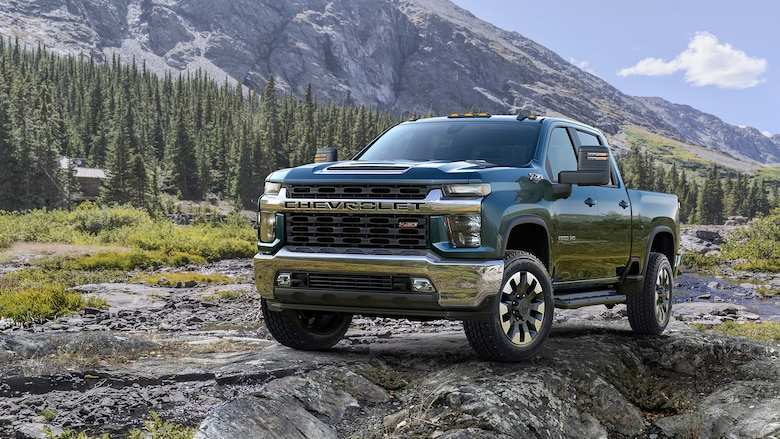 81 A 2020 Chevy Silverado 1500 2500 Ratings