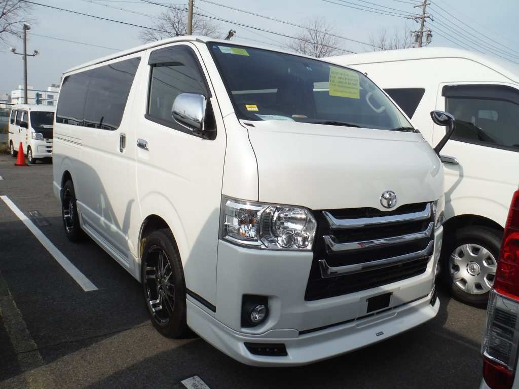 81 A 2020 Toyota Hiace Research New