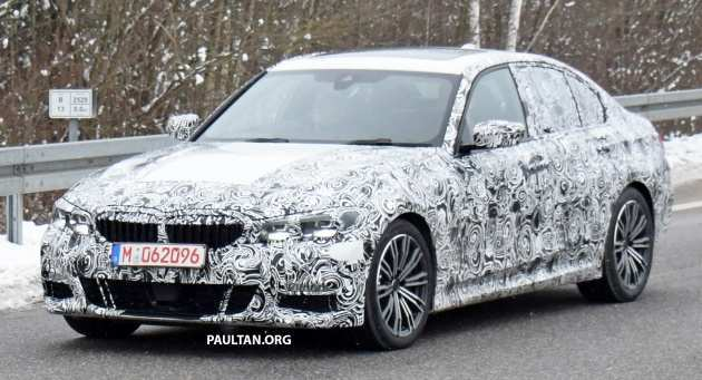 81 A Spy Shots BMW 3 Series Concept