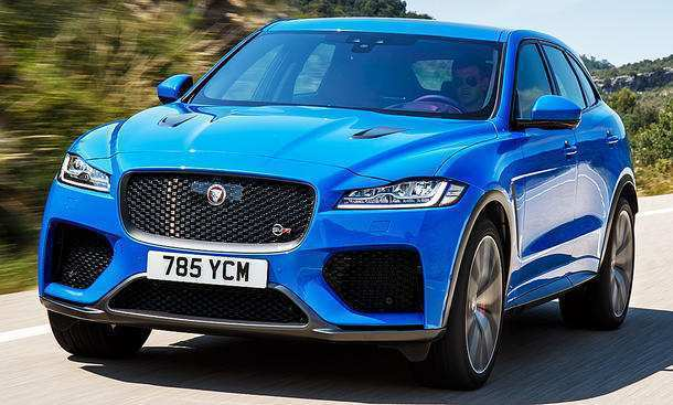 81 All New 2019 Jaguar F Pace Svr Concept And Review