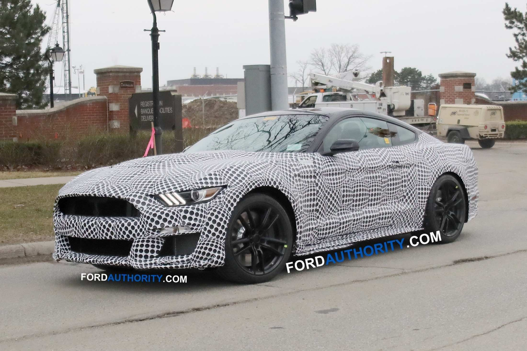 81 All New 2019 The Spy Shots Ford Mustang Svt Gt 500 New Concept