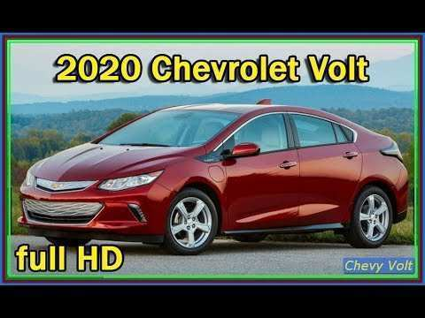 81 All New 2020 Chevrolet Volt Release Date And Concept