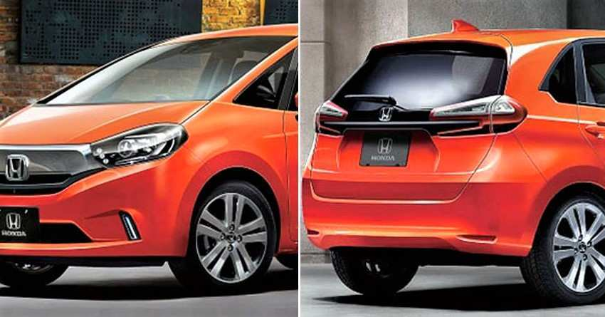 81 All New 2020 Honda Fit Redesign And Concept