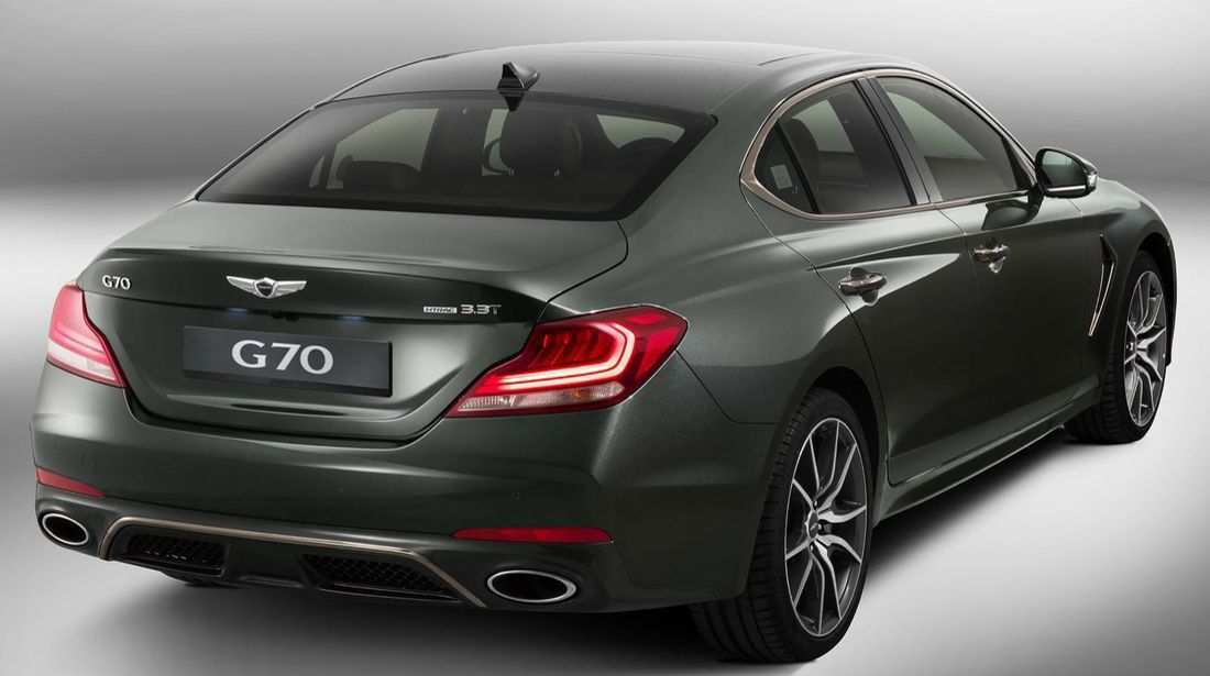 81 All New Hyundai Genesis G70 2020 Concept And Review