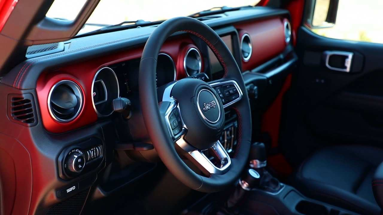 81 All New Jeep Truck 2020 Interior Redesign And Concept